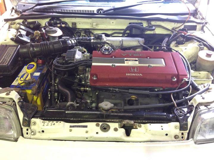 B18C7 nice STD conversion into ED9 CRX