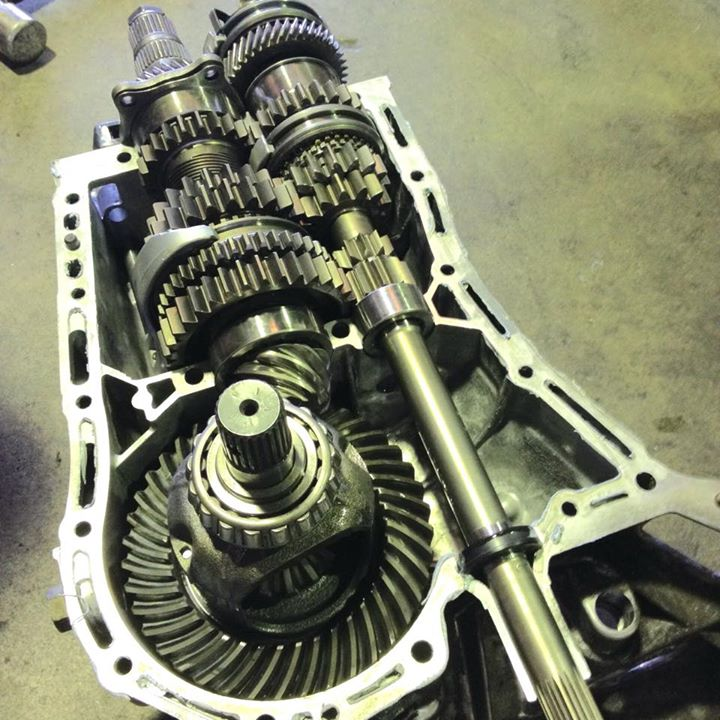 Straight cut gears for a 5speed WRX should handle up to 600hp #rebuild #gearbox #Toysgarage